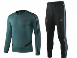 Тренировочный костюм Аякс (Ajax) темно-зеленый 2020