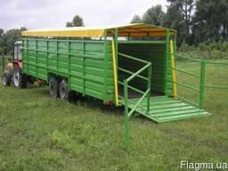 Трейлер, прицеп для перевозки скота – Скотовоз ТС-9