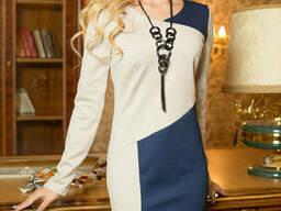 Трикотажное красивое женское платье 44-50 , доставка по. ..