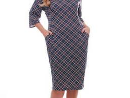 Трикотажное платье большого размера с 52 по 58 размер