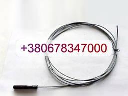 Трос газа МАЗ с наконечником L=2300 5551-1108596