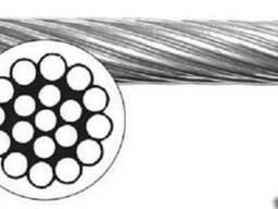 Трос нержавеющий, диаметр 1,25мм, 1х19 - фото 1