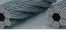 Трос стальной, ГОСТ 2688-80, ф=5. 6мм, ф=6. 2мм, цена, купить,