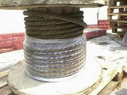 Трос, стальной канат 29,0 ГВЖН ГОСТ 7668-80 в Крыму