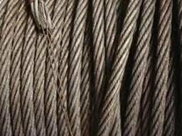 Трос стальной оцинкованный 5,8 ГОСТ 3067-88