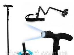 Трость телескопическая с подсветкой Magic Cane