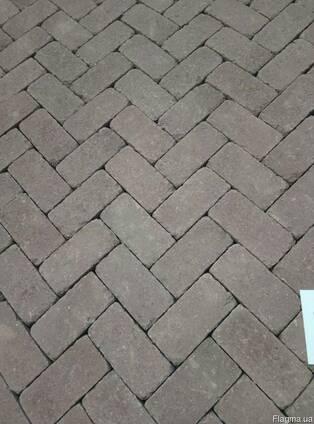 Тротуарна плитка кірпічик ТМ Золотий Мандарин
