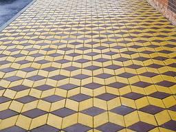 Тротуарна плитка Ромб
