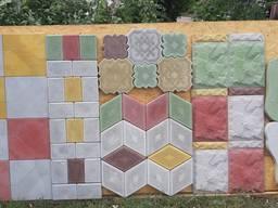 Тротуарная и фасадная плитка литая