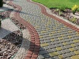 Тротуарная плитка 25 мм