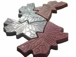 Тротуарная плитка - бабочка