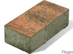 Тротуарная плитка «Брусчатка колор-микс»