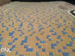 Тротуарная плитка «Двойное Т» 80мм. БалансБуд
