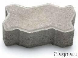 Тротуарная плитка Фалка 24-13-12 серый