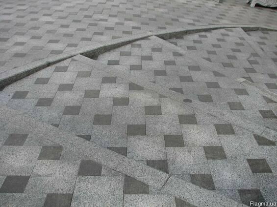 Тротуарная плитка из гранита.