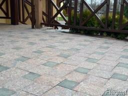 Тротуарная плитка из гранита. - фото 3