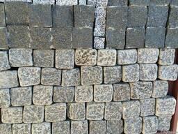 Тротуарная плитка из гранитна(брусчатка)