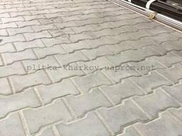 Тротуарная плитка Катушка (Двойное Т)