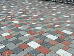 Тротуарная плитка Квадра Старый город