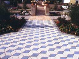 Тротуарная плитка квадратная от производителя в Крыму