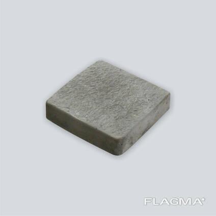 Тротуарная плитка черная Ретро 3 см