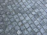 Тротуарная плитка черная Ретро 3 см - фото 2