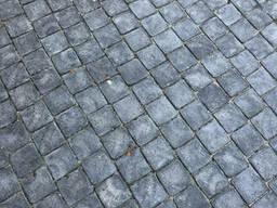 Бетонная тротуарная плитка Ретро 5 см черного цвета