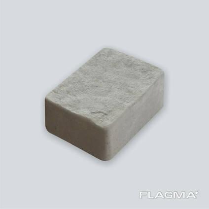 Плитка тротуарная серая кирпичик Ретро 5 см