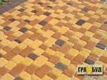 """Тротуарная плитка""""Старый город""""45мм оранжевая - фото 1"""