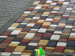 Тротуарная плитка Старый город, Кирпичик: 25 40 60