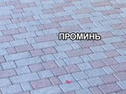 """Тротуарная плитка вибролитая """"Булыжник"""""""