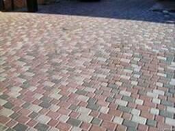 Тротуарная плитка вибролитая и сухопресованная от производит