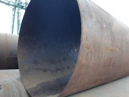 Труба 1020 мм, отрезаем куски