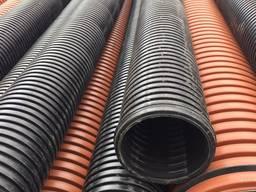 Трубы дренажные, канализационные, гофрированные 100 - 1200