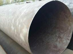 Труба 530 мм, отрезаем куски