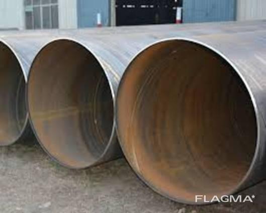 Труба 402х10 мм диаметр бесшовная , сварная ( порезка )
