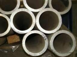 Труба алюминиевая круглая марки АД0 размер 45*6,0 мм