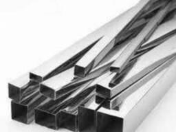 Труба алюминиевая профильная, квадратная АД31 Т5 цена купить