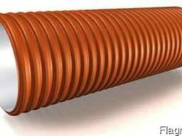 Труба дренажная двухслойная SN8 110