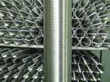 Труба гофрированная алюминиевая эластичная - фото 1