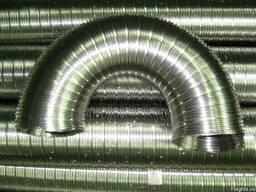 Труба, гофрированная эластичная из нержавеющей стали