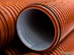 Труба гофрированная канализационная 160 мм
