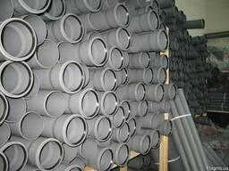 Труба канализационная 110 ПВХ внутренняя со склада в Одессе.