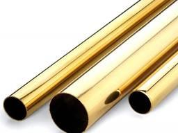 Труба латунная 16х1 мм сплав Л63