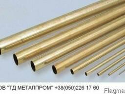 Труба латунная 9х1,5 мм Л63