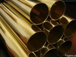 Латунная труба Л63 42*1*3000 ДКРНП купить цена порезка