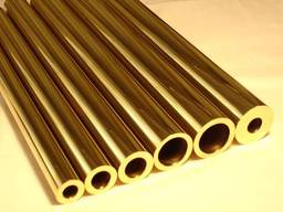 Труба латунная Л63 40х1, 0х3000 мм п\тв