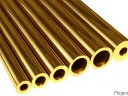 Труба латунная Л63 ф 16*1, 0*4100мм