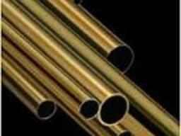 Труба латунная полутвердая ДКРНП Ø19.0х1.0 длина 2000мм