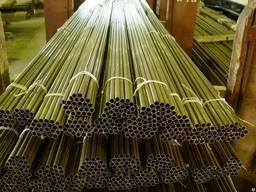 Труба латунная сплав ЛС59-1 71x20мм